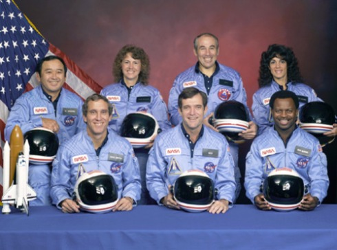 Challenger Space Astronauts