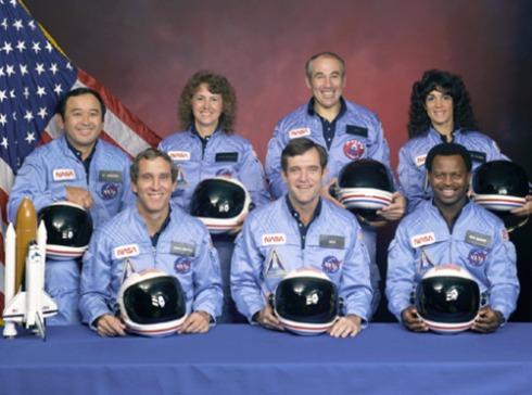 Challenger Space Astronauts