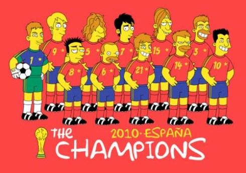 Seleccion Espanola Simpsons