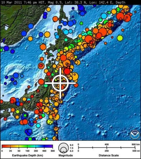 japan earthquake 8.9 2011