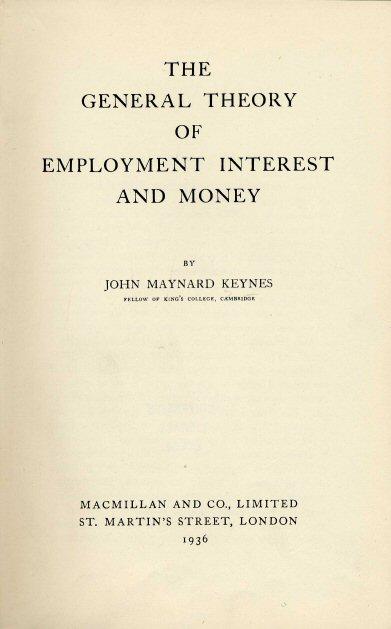 Keynes-macroeconomics