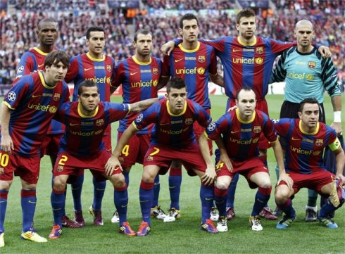 FC Barcelona 2011 Wembley Champions League